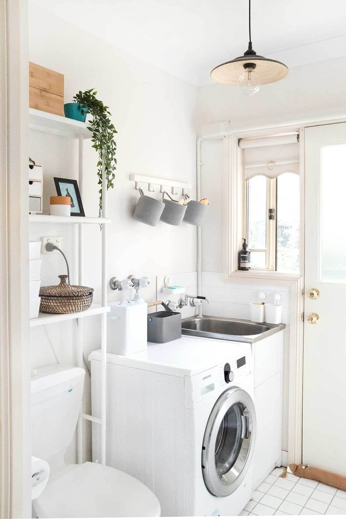 Before and After: How Smart Storage Transformed our Laundry Room