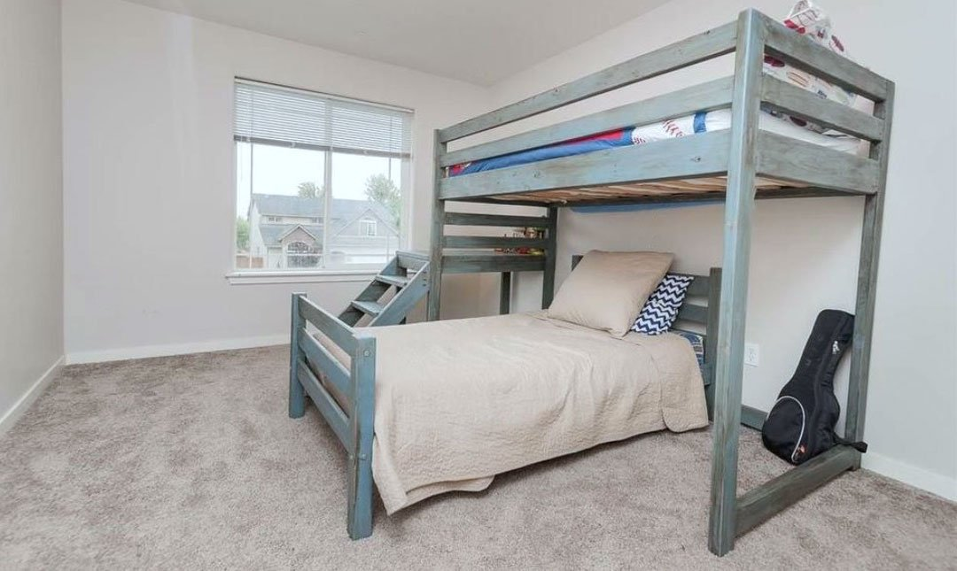 Camp Twin Bed Frame [Fits under the Camp Loft Bed]
